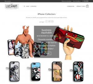 Lucifart.com – MarketPlace art et artisanat d'art