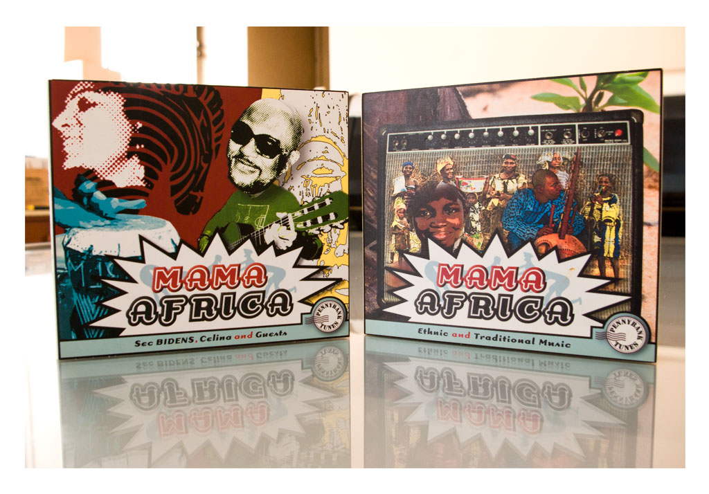 Conception CD audio – Mama Africa – PennyBank Tunes