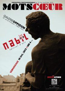 Nabil GHEZAL – Affiche exposition Espace Oppidum