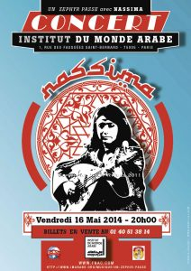 Nassima Chabane – Affiche concert